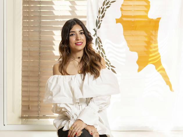 Cypriot London Sophia Charalambous