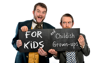 'Morgan & West's Utterly Spiffing Spectacular Magic Show For Kids (and Childish Grown-ups)!'
