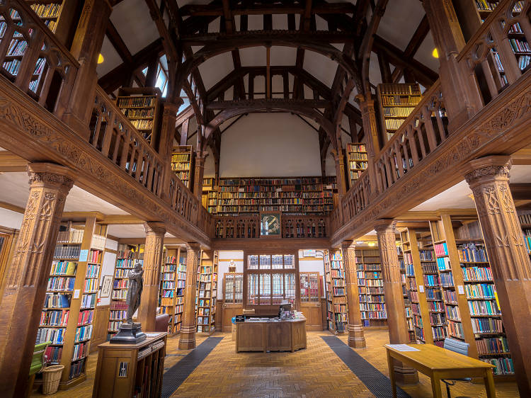 Get lost in a book at the UK's finest residential library