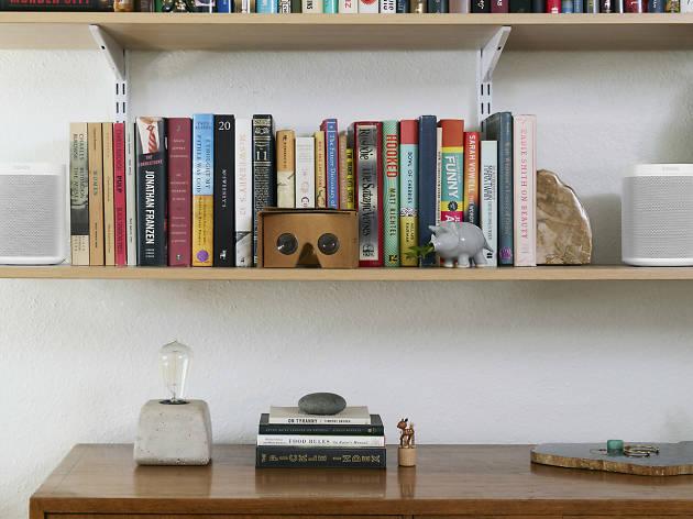 Sonos speakers bookshelf (Photograph: Supplied)