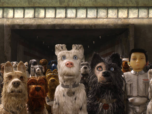 Isle of dogs still from movie
