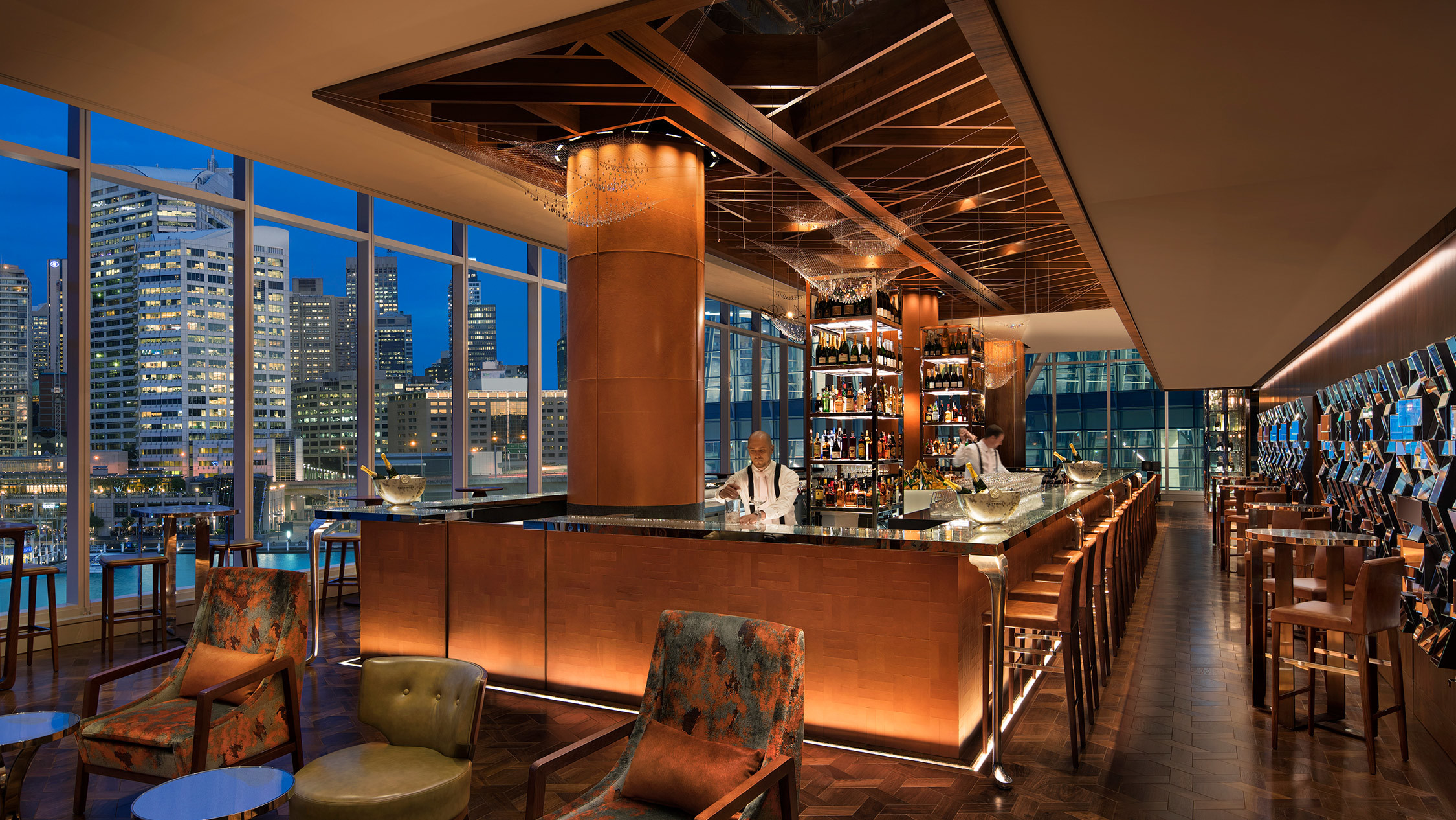 Champagne Bar, Sofitel Darling Harbour