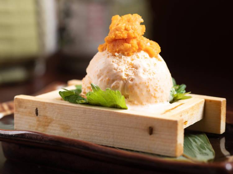 S2 Kitchen︰北海道海膽雪糕 ($68)