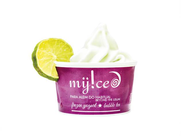 gelado de mojito da MyIced