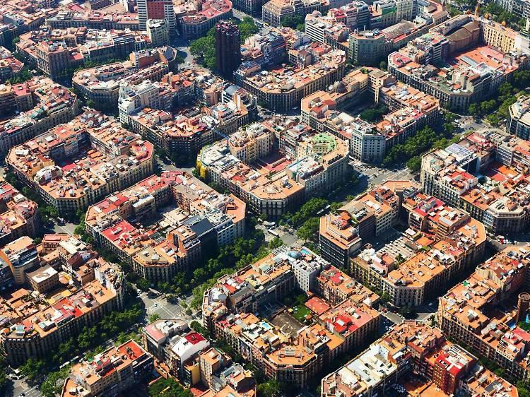 Hortas nos terraços dos prédios
