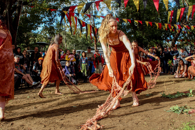 Jannawii dancers in Parramatta