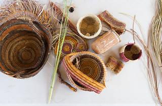 Weaved baskets