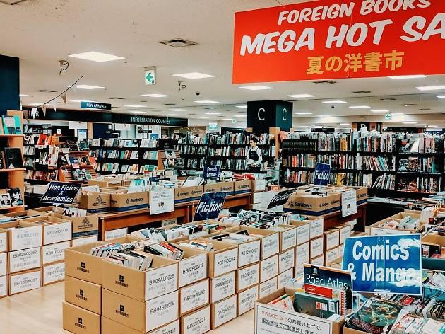 Books Kinokuniya Mega Hot Sale 2018