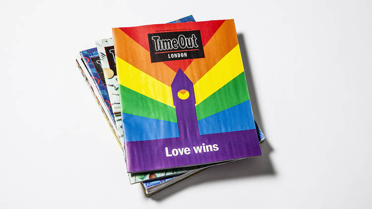 Time Out Mag Stack