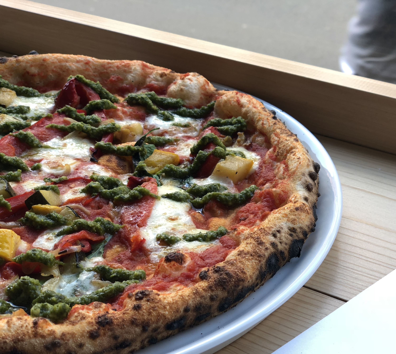 Brick pizza restaurant, Norwich