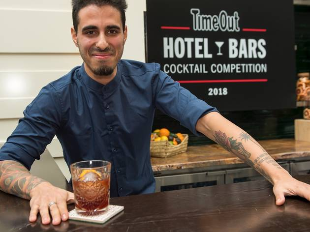 Cocktail at the Time Out Hotel Bars competition