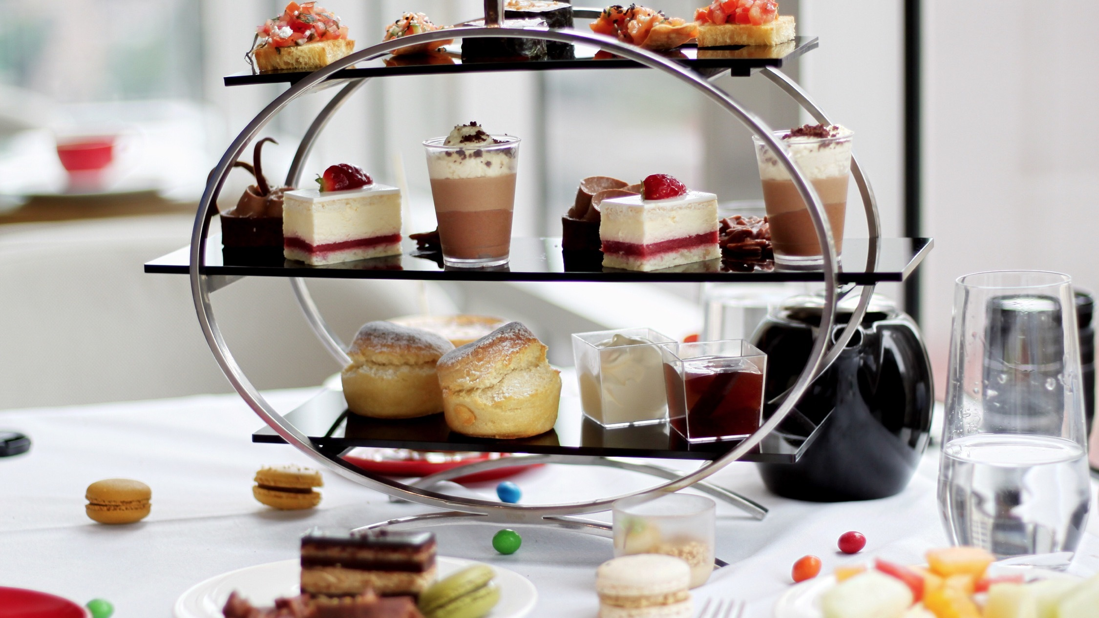 Food and drink at swissotel sydney high tea