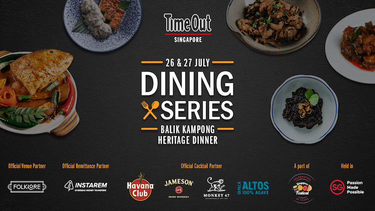 Time Out Singapore Dining Series: Balik Kampong Heritage Dinner