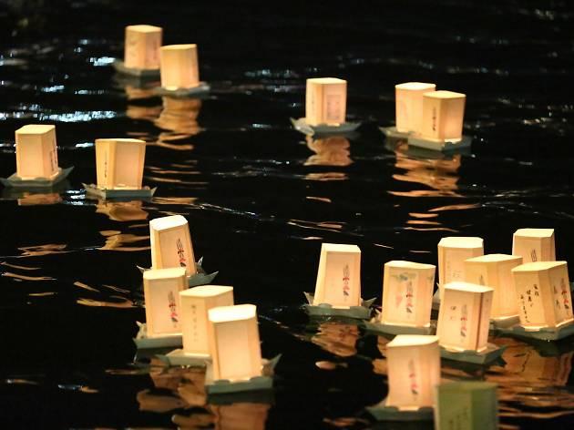 隅田川 とうろう流し1