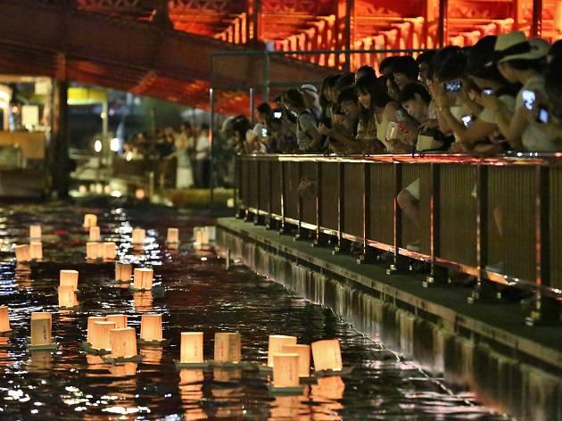 隅田川 とうろう流し3