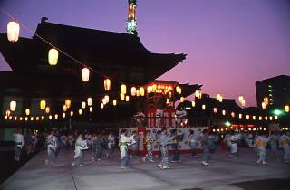 増上寺 地蔵尊奉賛 盆踊り大会2