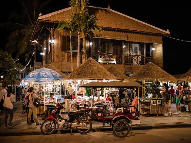 Old Market, Siem Reap