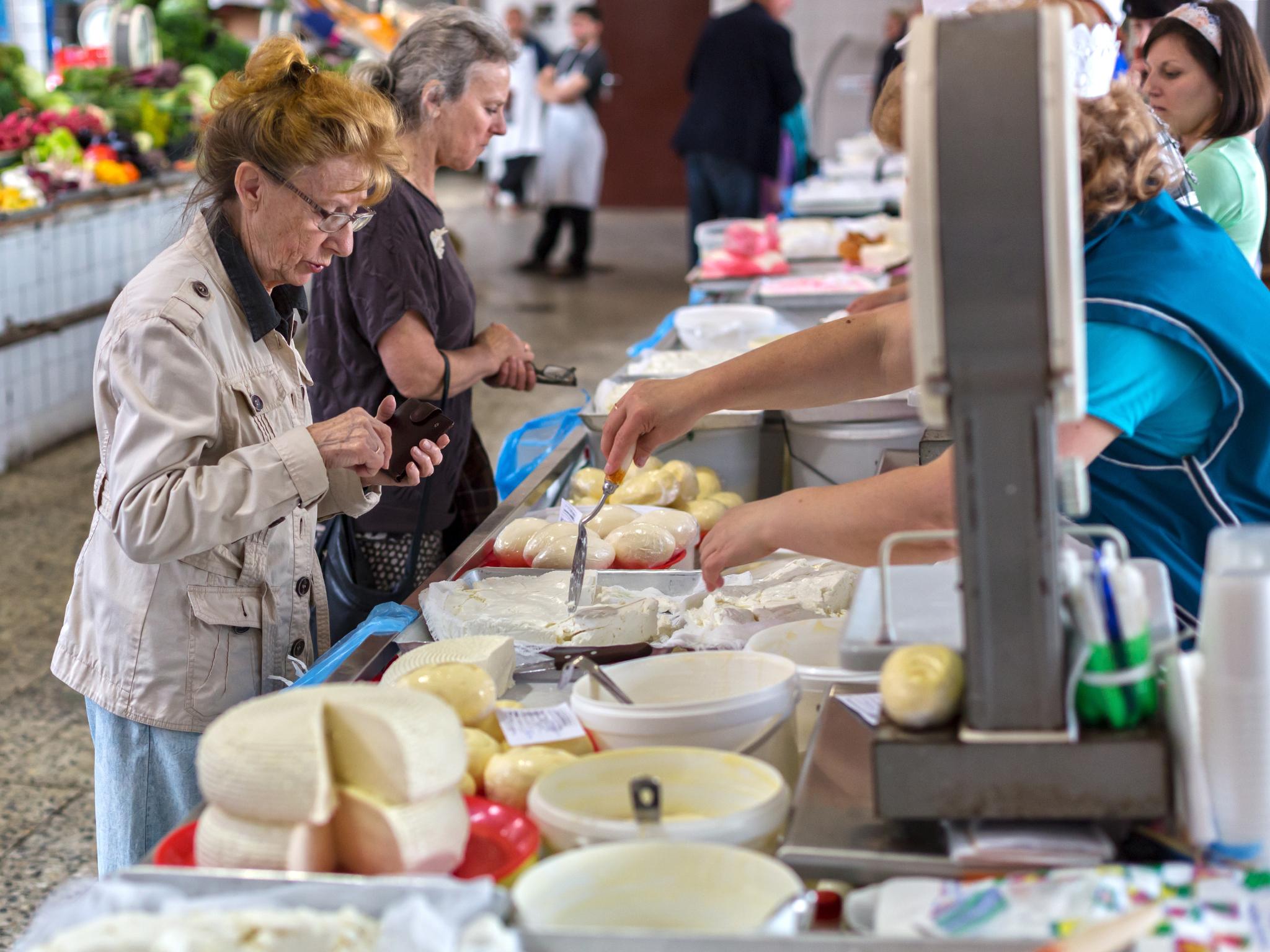 Kuznechny rynok - market, St. Petersburg