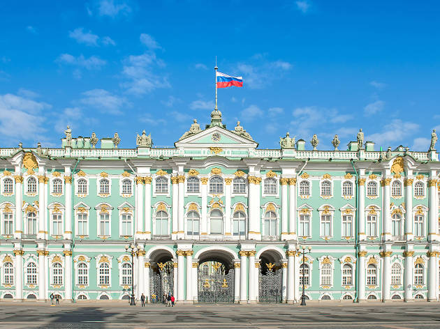 The State State Hermitage Museum, St.Petersburg