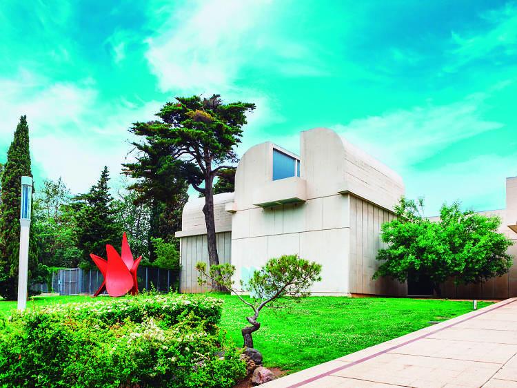 Art a la Fundació Miró de Montjuïc