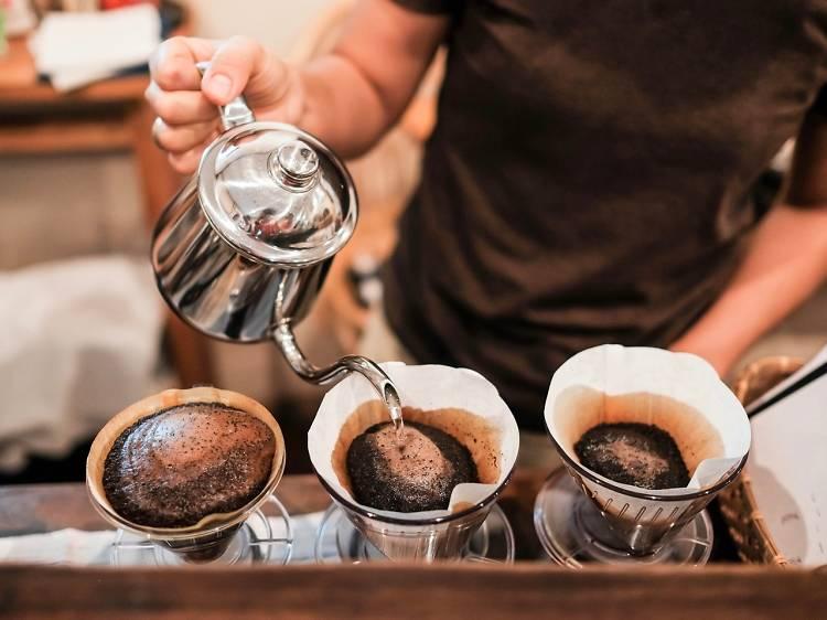 Start grinding (coffee)