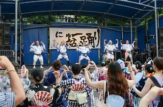 にゅ〜盆踊り
