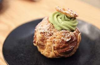 Pastry at Stonemill Matcha