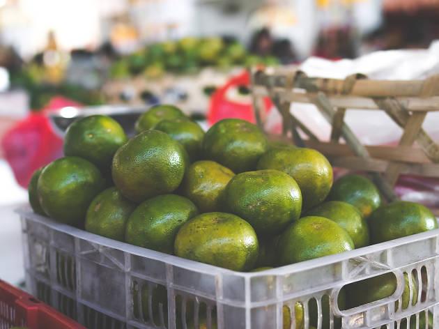 Lemons green market