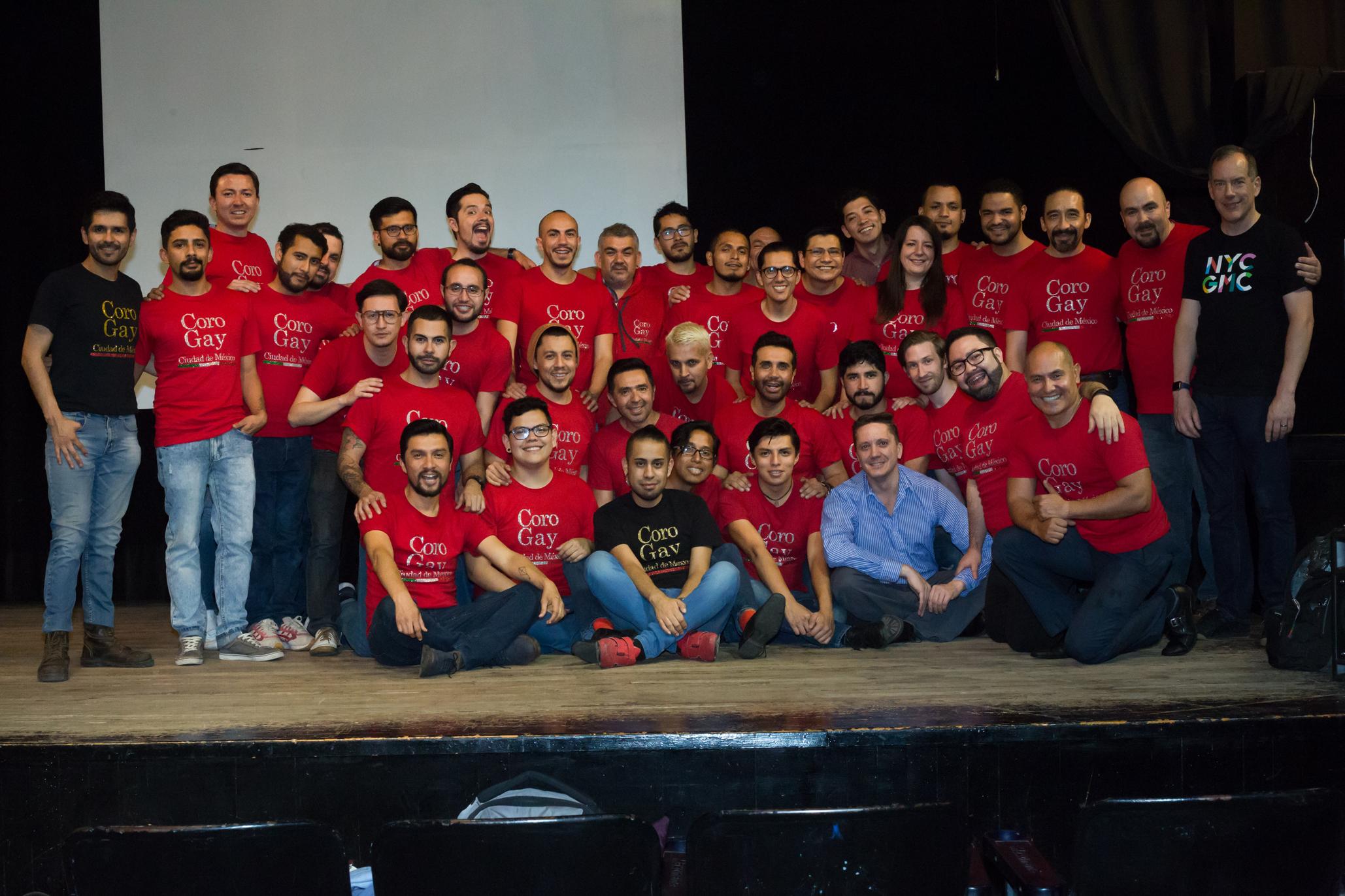 Coro Gay Ciudad de México: Cantando por la diversidad