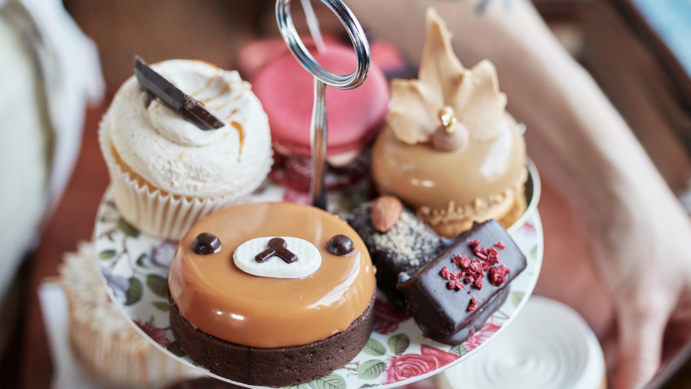 Cakes at Sweet Set High Tea