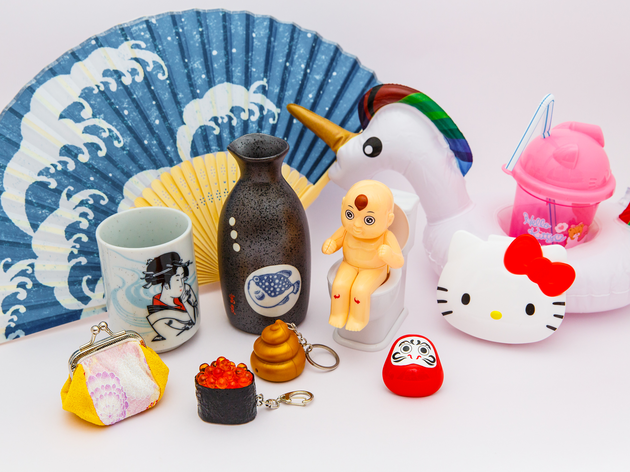 100 yen souvenirs - group shot