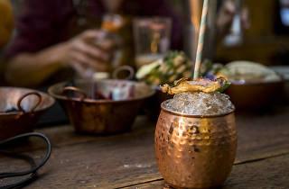 Coctel rufino gastrobar sotol bebida tradicional