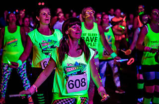 Do not reuse - Clubbercise, Birmingham, for Galaxy campaign