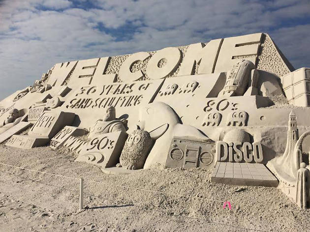 Annual American Sandsculpting Championship EITW