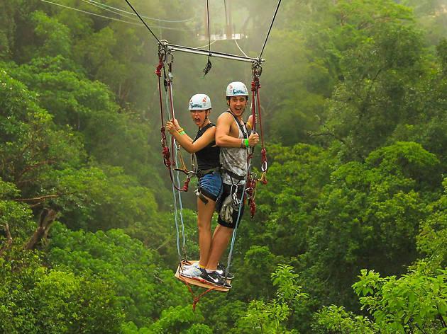 Los Veranos Canopy Tour zipline