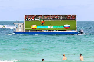 World Cup boat