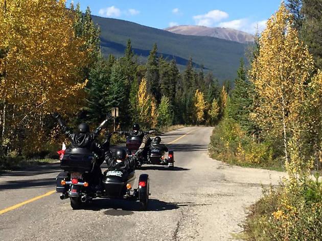 Harley Davidson Sidecar Tour EITW