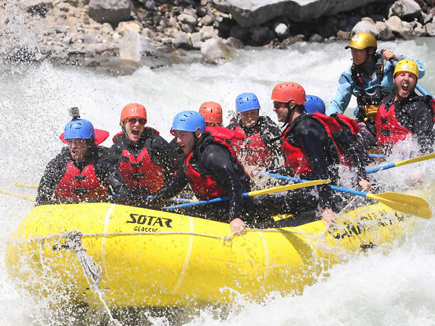 White Water Rafting EITW
