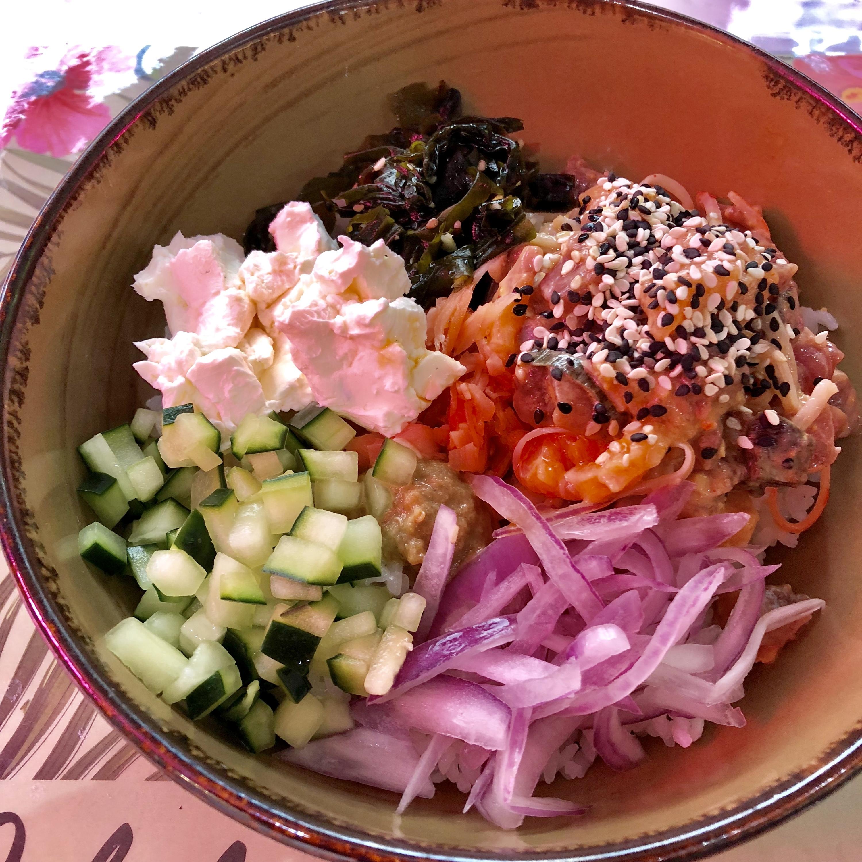 Poke bowl del chef El Jaguaiano