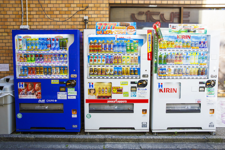 Some of the best things you can buy from vending machines in Tokyo