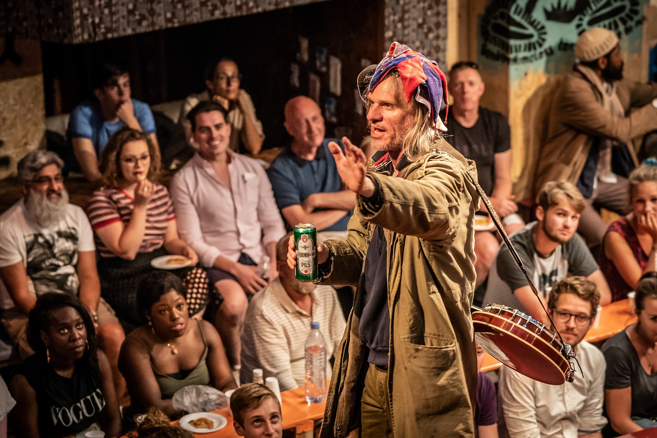 <p>'The Jungle' at Playhouse Theatre</p>