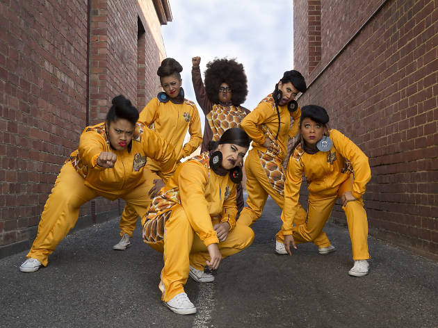 Hot Brown Honey perform at Southbank this summer