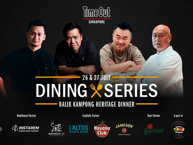 Meet the four chefs behind Time Out's Balik Kampong Heritage Dinner