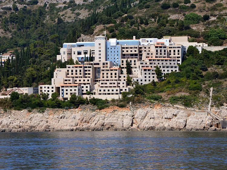 Explore an abandoned luxury hotel