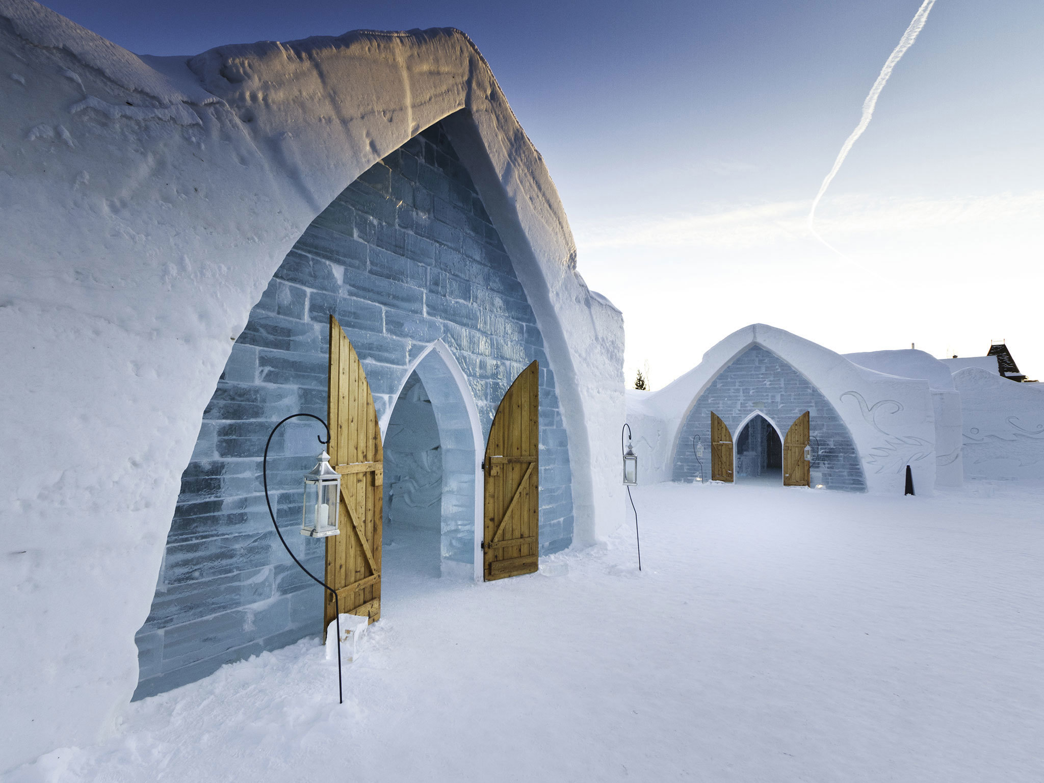 Hotel de Glace, Ice Hotel - Canada - Montreal