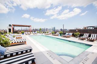 Pool & Rooftop at The Williamsburg Hotel