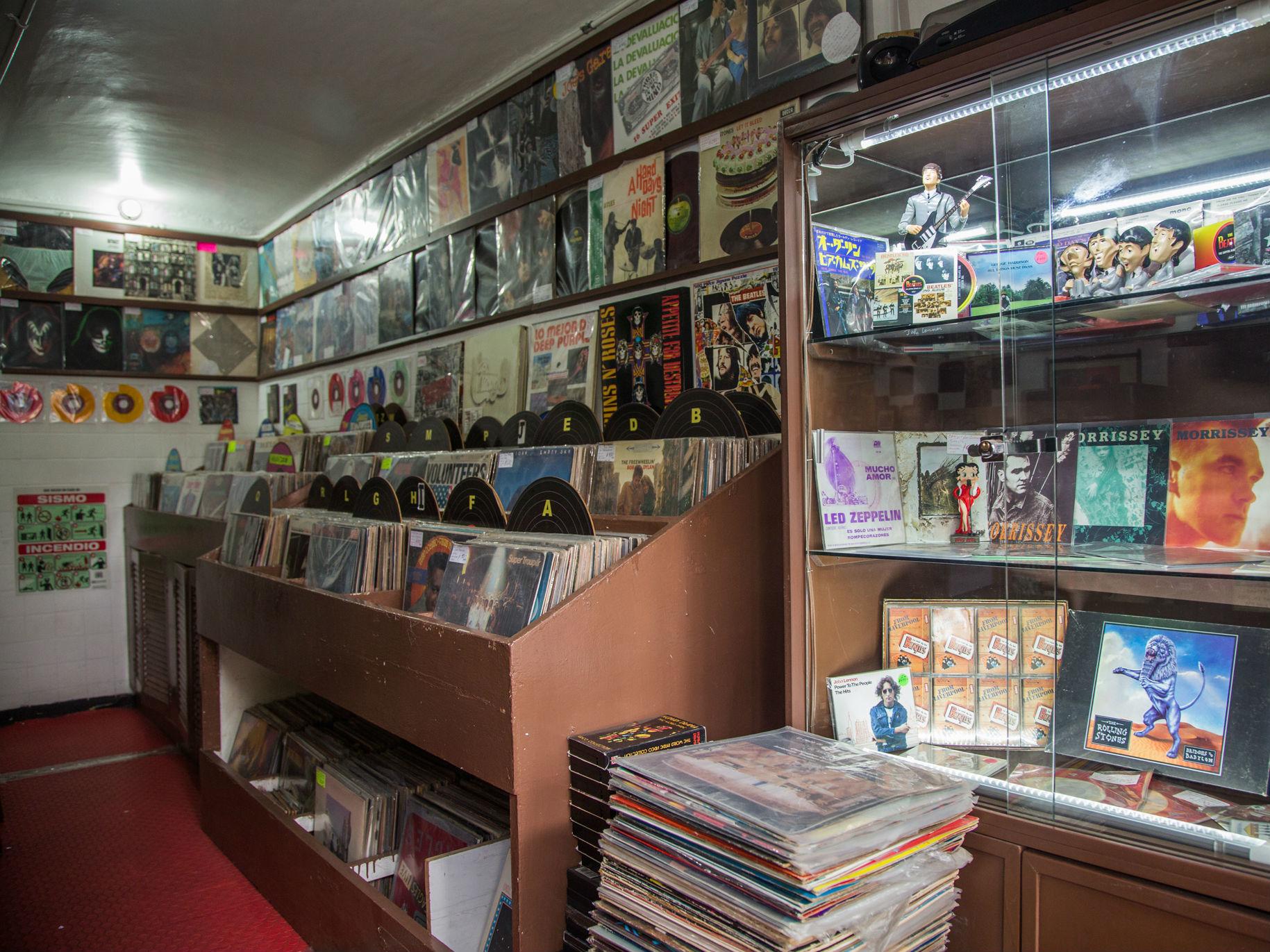 La Tienda Del Disco De Vinyl en la Roma