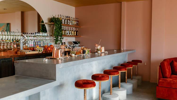 Bar Caló mezcal bar in Echo Park