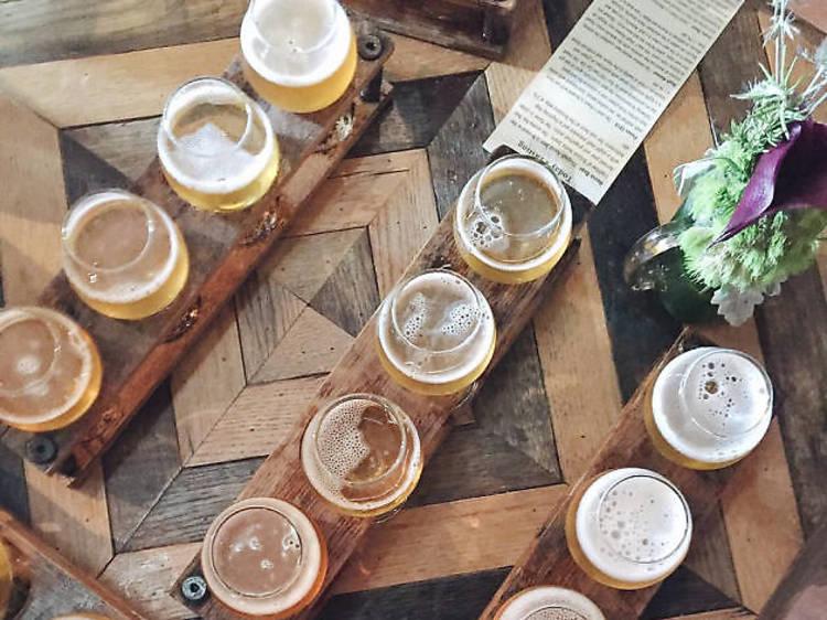 Take a Brewery Tour