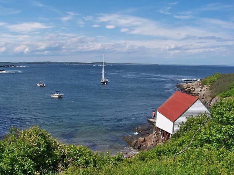 Paddle the Maine Island Trail
